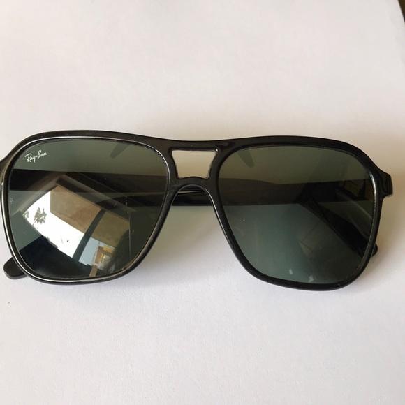 10eb3945c3 Ray - Ban Bausch   Lomb black vintage sunglasses. M 5ac7b4242c705d66e12abd07
